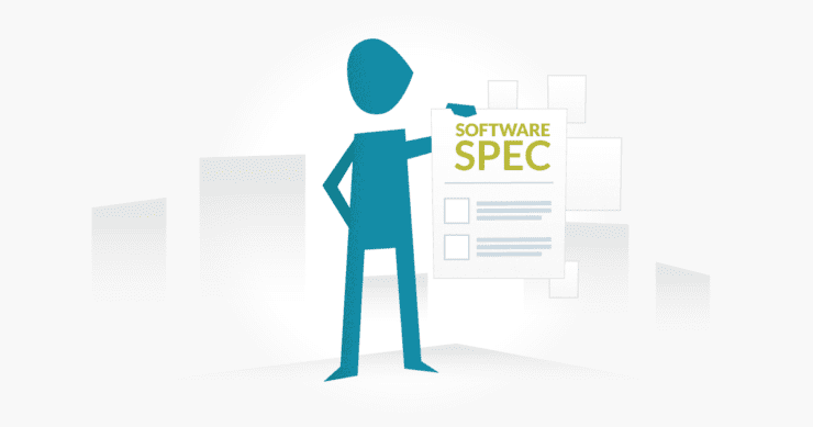 How to write specifications for software