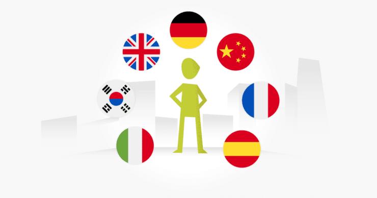 Multilingual website testing