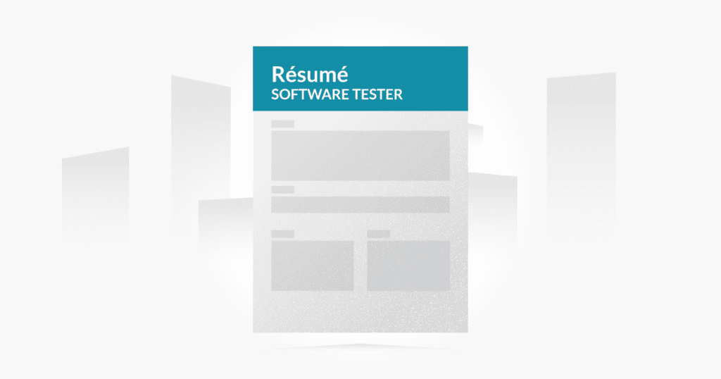 Writing An Ideal Qa Software Tester Resume Testlodge Blog