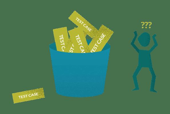 Agile test case management problems