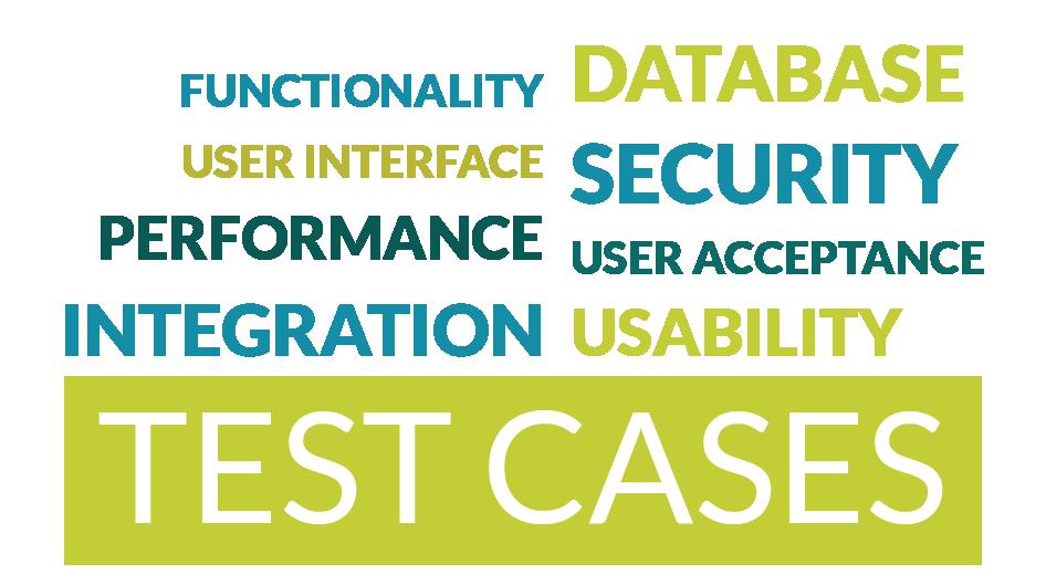 Different test case types